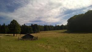 Die Zdarskyhütte in Österreich an einem genialen Spätsommertag